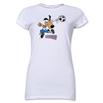 1994 FIFA World Cup Striker Mascot Junior Women's T-Shirt (White)