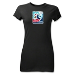 FIFA U-20 World Cup 2013 Junior Women's Emblem T-Shirt (Black)