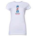 FIFA U-17 World Cup Chile 2015 Core Junior Women's T-Shirt (White)
