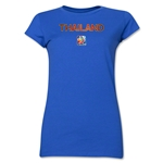 Thailand FIFA Women's World Cup Canada 2015(TM) Junior Women's T-Shirt (Royal)