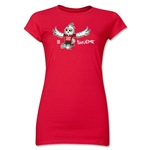 FIFA Women's World Cup Canada 2015(TM) Junior Women's Mascot II T-Shirt (Red)