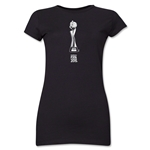 FIFA Women's World Cup Canada 2015(TM) Junior Women's French Trophy 1 T-Shirt (Black)