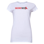 Grassroot Soccer Junior Women's T-Shirt (White)
