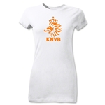 Netherlands Junior Women's T-Shirt (White)