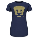 Pumas UNAM Junior Women's T-Shirt (Navy)