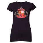 Sunderland Core Junior Women's T-Shirt (Black)