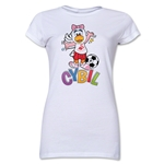 Swansea City Cybil Junior Women's T-Shirt (White)