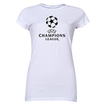 UEFA Champions League Junior Women's T-Shirt (White)