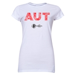 Austria Euro 2016 Elements Junior Women's T-Shirt (White)
