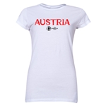 Austria Euro 2016 Core Junior Women's T-Shirt (White)