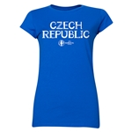 Czech Republic Euro 2016 Core Junior Women's T-Shirt (Royal)