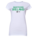 Northern Ireland Euro 2016 Core Junior Women's T-Shirt (White)