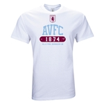Aston Villa AVFC Youth T-Shirt (White)
