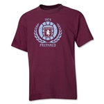 Aston Villa Distressed Youth T-Shirt (Maroon)