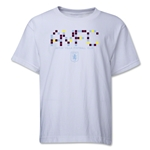Aston Villa Pixel Graphic Youth T-Shirt (White)