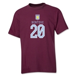 Aston Villa Benteke Youth T-Shirt (Maroon)