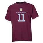 Aston Villa Agbonlahor Youth T-Shirt (Maroon)