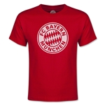 Bayern Munich Halftone Youth T-Shirt (Red)