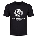 Copa America 2016 Single Color Emblem Youth T-Shirt (Black)