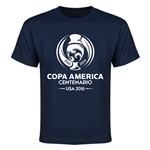Copa America 2016 Single Color Emblem Youth T-Shirt (Navy)