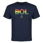 Bolivia Copa America 2016 Youth Elements T-Shirt (Navy)