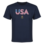 USA Copa America 2016 Youth Elements T-Shirt (Navy)