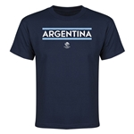 Argentina Copa America 2016 Youth Core T-Shirt (Navy)