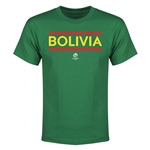 Bolivia Copa America 2016 Youth Core T-Shirt (Green)
