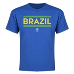 Brazil Copa America 2016 Youth Core T-Shirt (Royal)