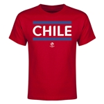 Chile Copa America 2016 Youth Core T-Shirt (Red)