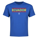 Ecuador Copa America 2016 Youth Core T-Shirt (Royal)