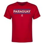 Paraguay Copa America 2016 Youth Core T-Shirt (Red)