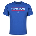 USA Copa America 2016 Youth Core T-Shirt (Royal)