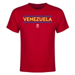 Venezuela Copa America 2016 Youth Core T-Shirt (Red)