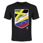 Jamaica vs Venezuela Copa America 2016 Youth Matchup T-Shirt (Black)