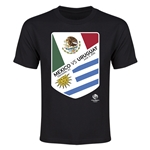 Mexico vs Uruguay Copa America 2016 Youth Matchup T-Shirt (Black)