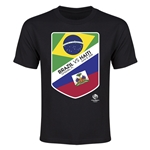 Brazil vs Haiti Copa America 2016 Youth Matchup T-Shirt (Black)