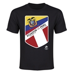 Ecuador vs Peru Copa America 2016 Youth Matchup T-Shirt (Black)