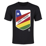Chile vs Bolivia Copa America 2016 Youth Matchup T-Shirt (Black)