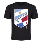 Argentina vs Panama Copa America 2016 Youth Matchup T-Shirt (Black)