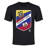 Ecuador vs Haiti Copa America 2016 Youth Matchup T-Shirt (Black)