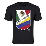 Mexico vs Venezuela Copa America 2016 Youth Matchup T-Shirt (Black)