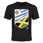 Uruguay vs Jamaica Copa America 2016 Youth Matchup T-Shirt (Black)