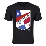 Chile vs Panama Copa America 2016 Youth Matchup T-Shirt (Black)