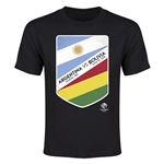 Argentina vs Bolivia Copa America 2016 Youth Matchup T-Shirt (Black)