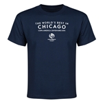 Chicago Copa America 2016 Host City Youth T-Shirt (Navy)