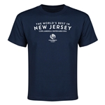 New Jersey Copa America 2016 Host City Youth T-Shirt (Navy)