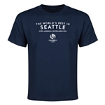 Seattle Copa America 2016 Host City Youth T-Shirt (Navy)