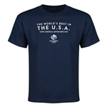 The USA Copa America 2016 Host Nation Youth T-Shirt (Navy)