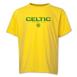 Celtic Football Club Youth T-Shirt (Yellow)